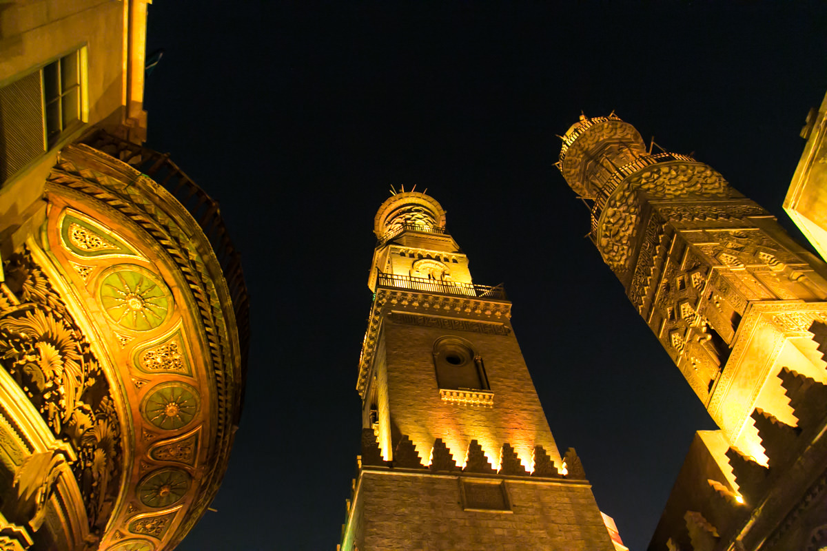Mosques in old Cairo