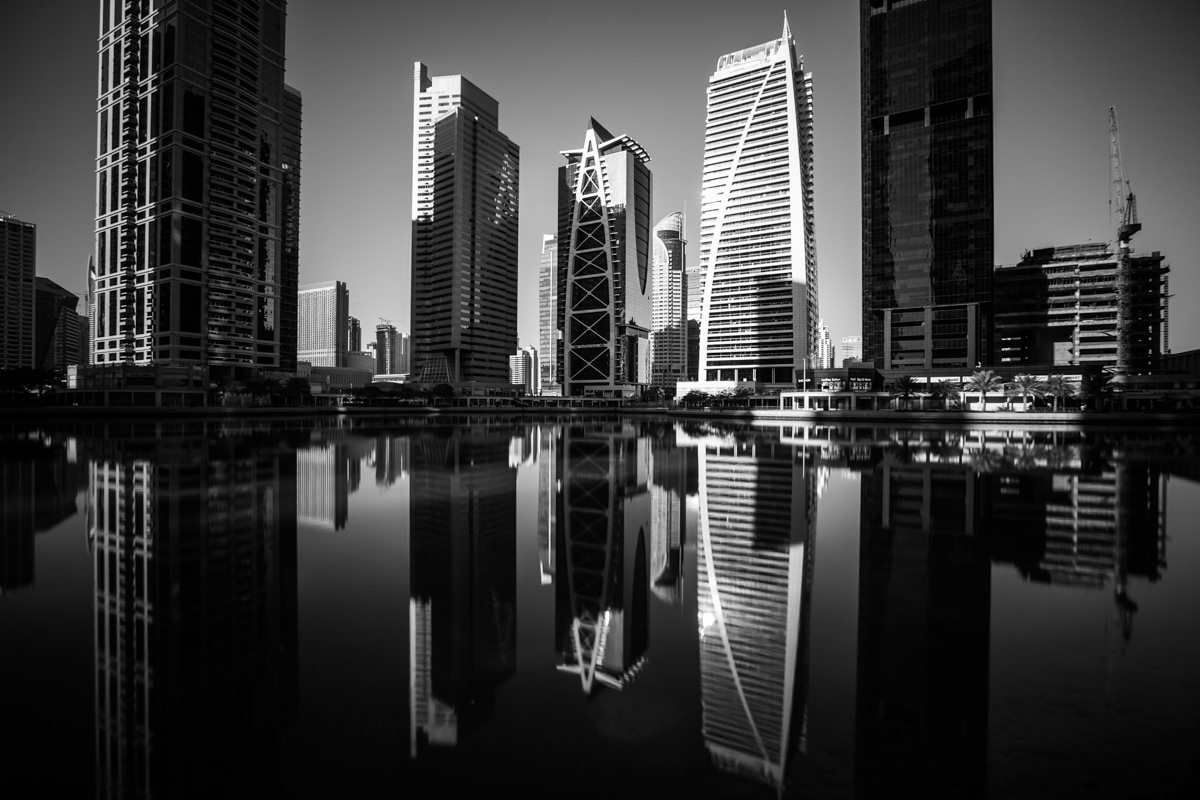 The tall towers of JLT
